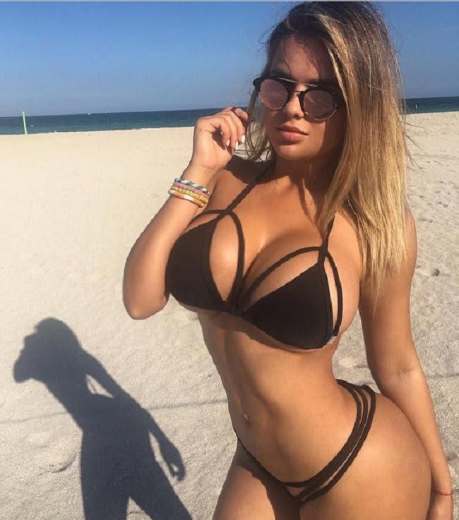 Русская Ким Кардашьян взорвала Инстаграм своими откровенными снимками
