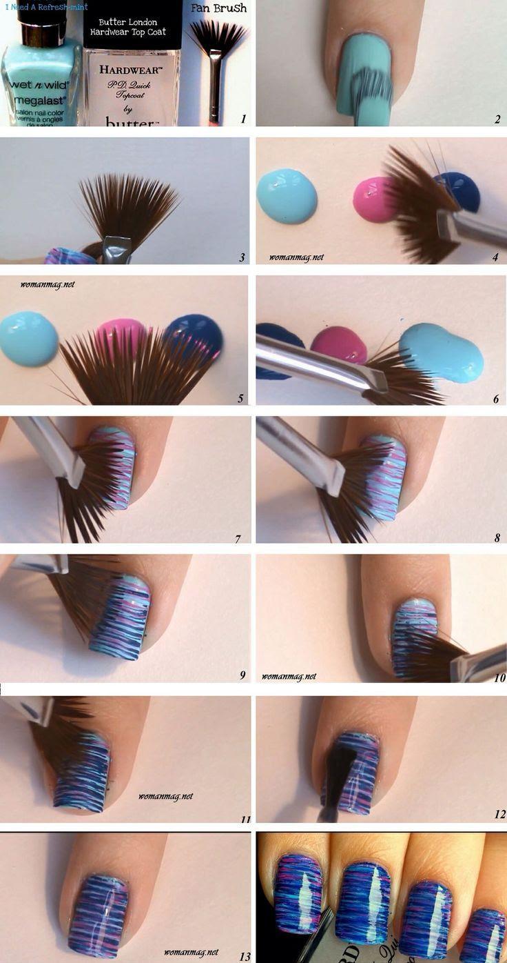 easy nail ideas for summer Easy Nail Ideas Pinterest
