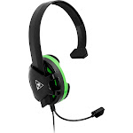 Turtle Beach - Recon Chat Wired Mono Gaming Headset for Xbox One and Xbox Series X - Black/Green