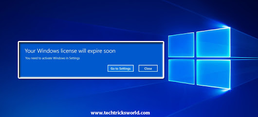 How to Fix Your Windows License Will Expire Soon in Windows 10?