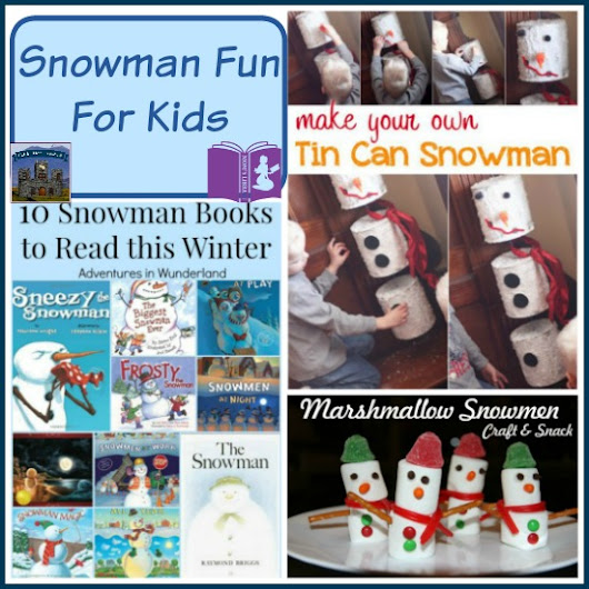Snowman Fun on Mom's Library - Castle View Academy