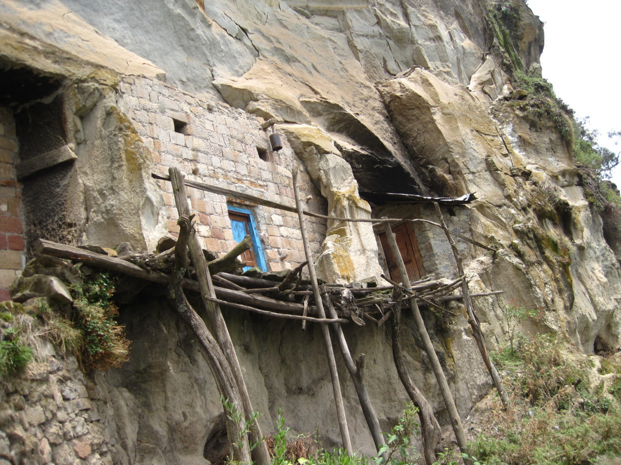 Rock carved dwelling near Lalibela, Ethiopia. Contributed by Goran Grahovac