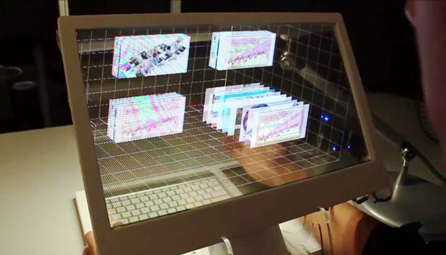 Latest Invention: Computer with Transparent Screen that ...