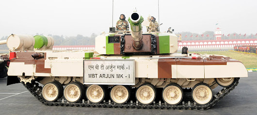 Arjun – The first Indian main battle tank