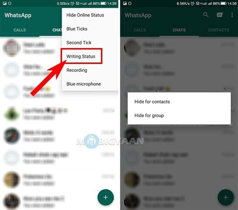 hide typing status  whatsapp guide