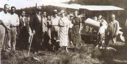 προσγείωση το 1932