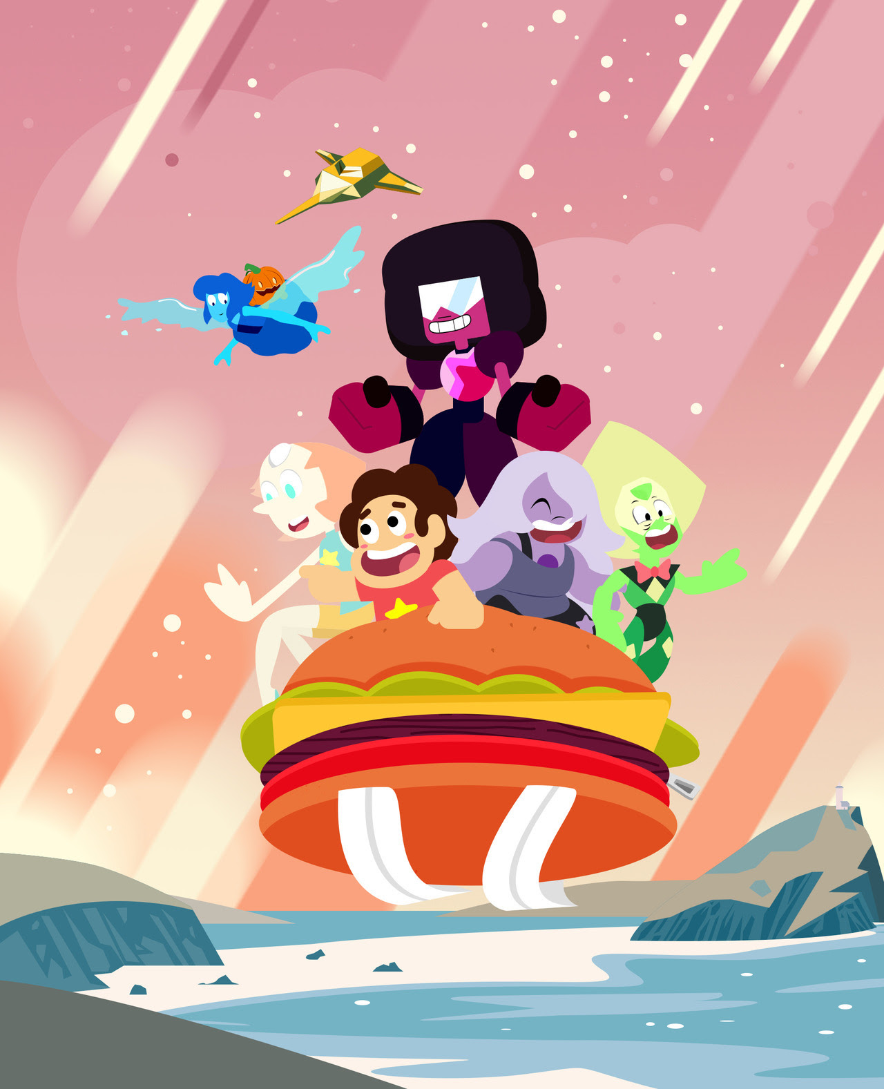 My first Steven Universe fanwork. It has been a while! Feel great to be doing this even if my right hand is suffering from some muscle pains, it was totes worth it.