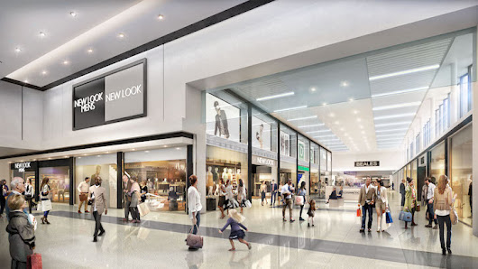 Major Renew Of Dolphin Shopping Centre In Poole