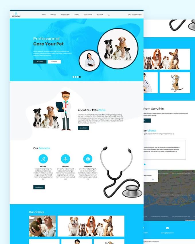 Petology – Pet Doctor Html Template
