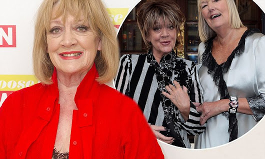 Amanda Barrie was 'terrified' her sexuality would ruin her career