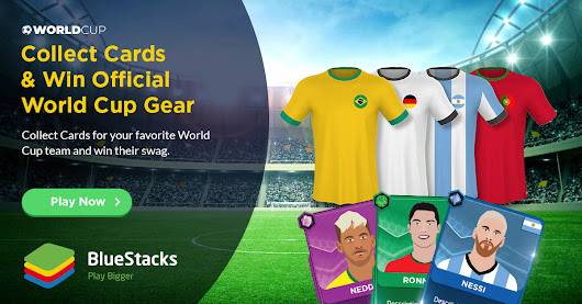 Play Mobile Games and Win Official World Cup Gear