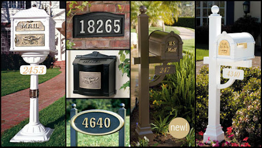 Gaines Mailboxes and Posts - Bowden's Fireside