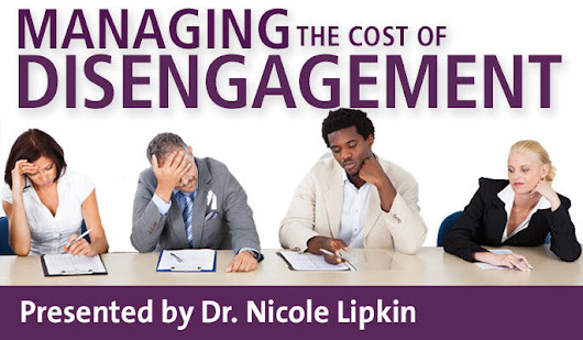 Managing The Cost of Disengagement - HRDQ-U