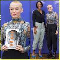 Rose McGowan Brings 'Brave' To Edinburgh International Book Festival Rose McGowan proudly showcases...