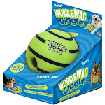 As Seen on TV Wobble Wag Giggle Interactive Dog Toy