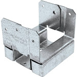 Simpson Strong-Tie Galvanized Steel Standoff Post Base