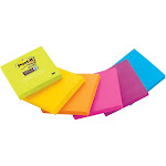 Post-it Super Sticky Notes Pad, Assorted Colors - 90 sheets