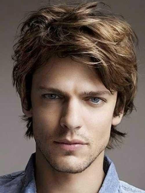 Mens Medium Hair 2015 | The Best Mens Hairstyles & Haircuts