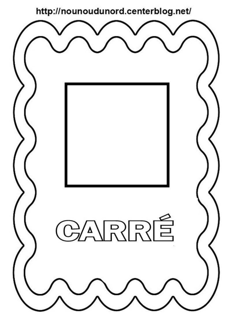 Coloriage Formes Geometriques