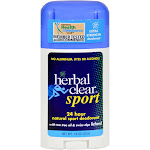 Herbal Clear Deodorant, Extra Strength, Sport - 1.8 oz