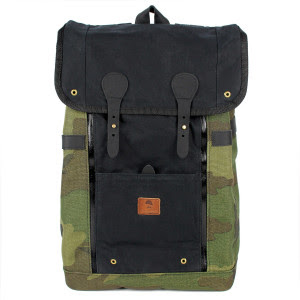 Babylon Backpack Vintage Black/ Camo 25500円