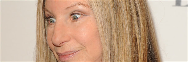 Image result for barbra streisand weird