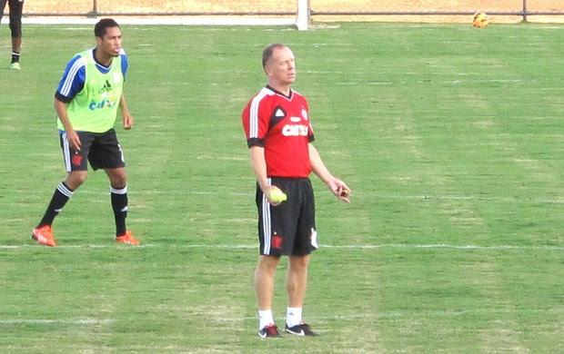 Mano menezes Treino Flamengo Brasilia (Foto: Richard Souza)
