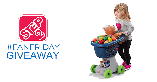 It's Step2 #FanFriday! Enter to win a #Step2 Little Helper's Cart & Shopping Set before midnight EST tonight!
