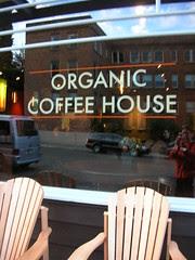 organic coffee house