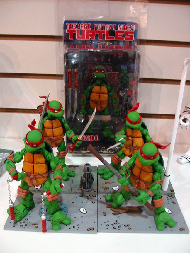 NECA TMNT // Over the TOP .. [[ Courtesy of Steve Murphy & Dan Berger ]]
