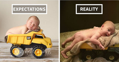 25+ Hilarious Pinterest Baby Photoshoot Fails #16 Made me Laugh so Hard -