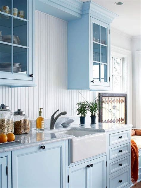 Light Blue Kitchen Backsplash Ideas