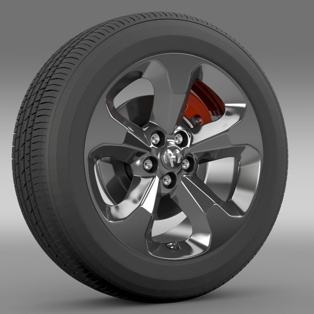 Ram Promaster City Tradesman Wheel 2015 3d Model Max Obj