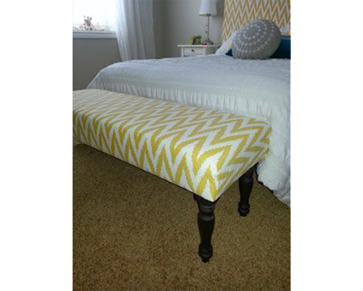 How to Make an Upholstered Bench - Sawdust Sisters