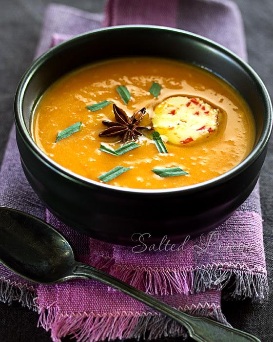 Butternut Squash - Orange Soup With Star Anice