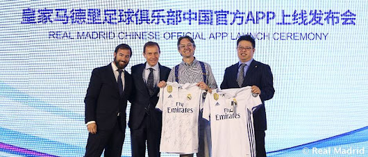 TOK.tv Kicks Off the Official Real Madrid Mobile App in China - TOK.tv