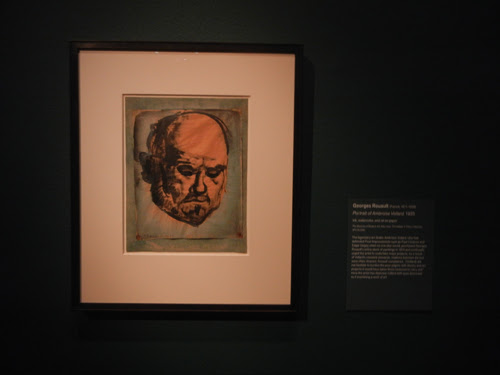 DSCN5715 _ Portrait of Ambroise Vollard, 1925, Georges Rouault, NY MOMA at De Young