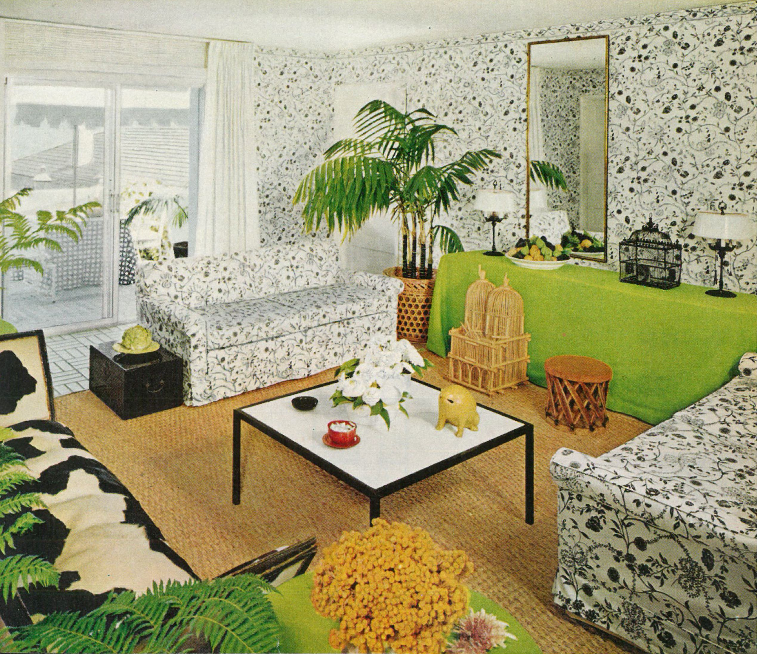 50 Years Ago Home Design Got Its Groove On The Boston Globe