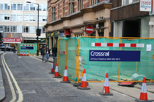 Crossrail begins by ianvisits