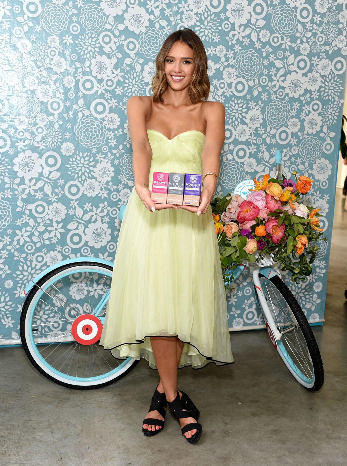 JESSICA ALBA at The Honest Co. 1 Year Anniversary with Target