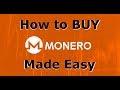 How to Buy Monero (XMR) Easiest Way