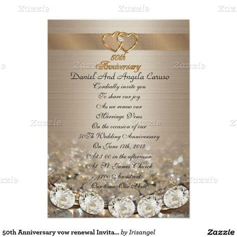 1000  images about 50th Wedding anniversary invitations