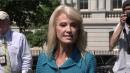 Kellyanne Conway Snaps Back at Reporter: 'What's Your Ethnicity?'