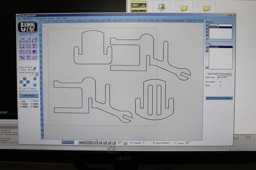 Cnc Autocad Design Download - Autocad