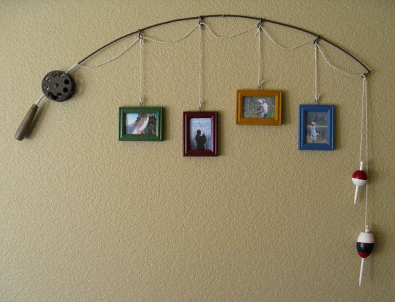 Diy Fishing Pole Picture Frame Iowa Natural Heritage Foundation