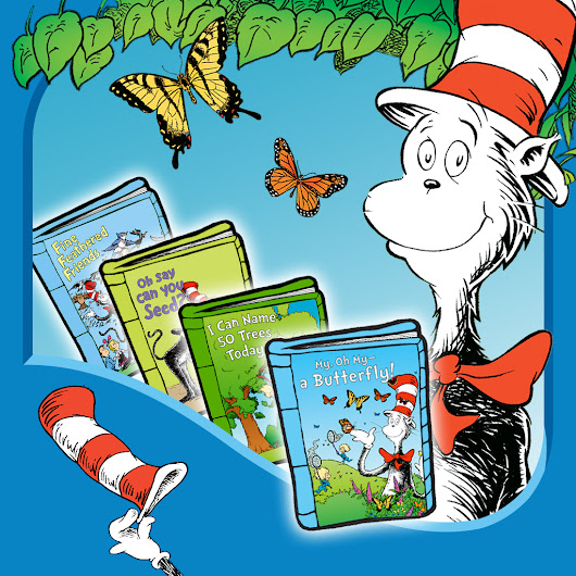 Outside Your Door! Learning Library Collection (Dr. Seuss/Cat in the Hat) by Oceanhouse Media - Review and Giveaway