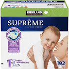 Kirkland Signature Diapers, Size 1 - 192 count