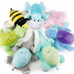Children Animal Plush Toys Magical Dream Starry Star Projection Lamp Light Dolls Toys Projector with Music for Baby Infant Sleep Hippo China