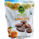 Happy Village Organic and Unsulphured Apricots 40 Ounce