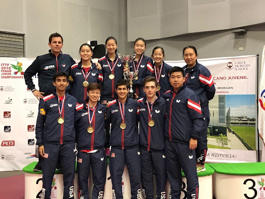 ITTF Pan Am Junior Championship: Junior Teams